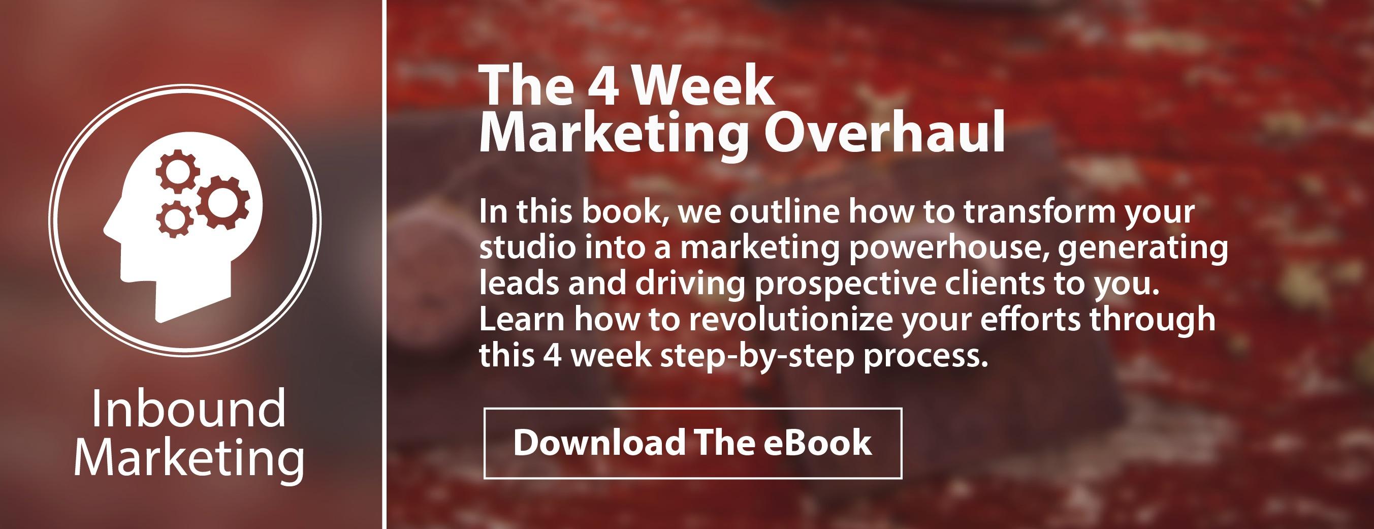 Four Week Marketing Overhaul