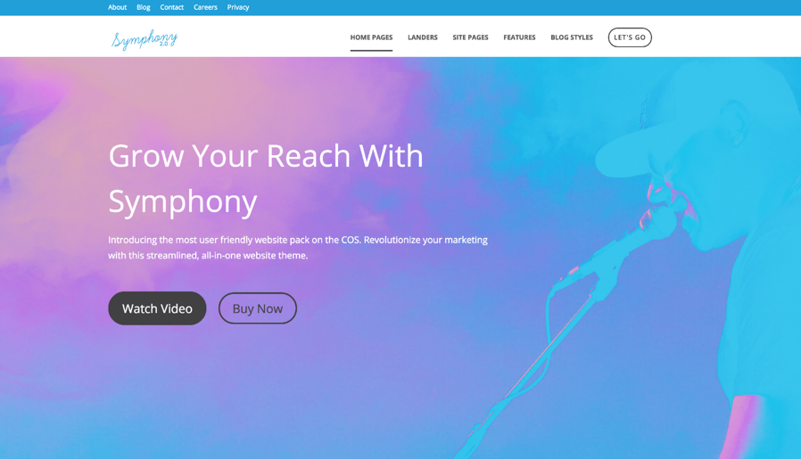 How Symphony connects through content