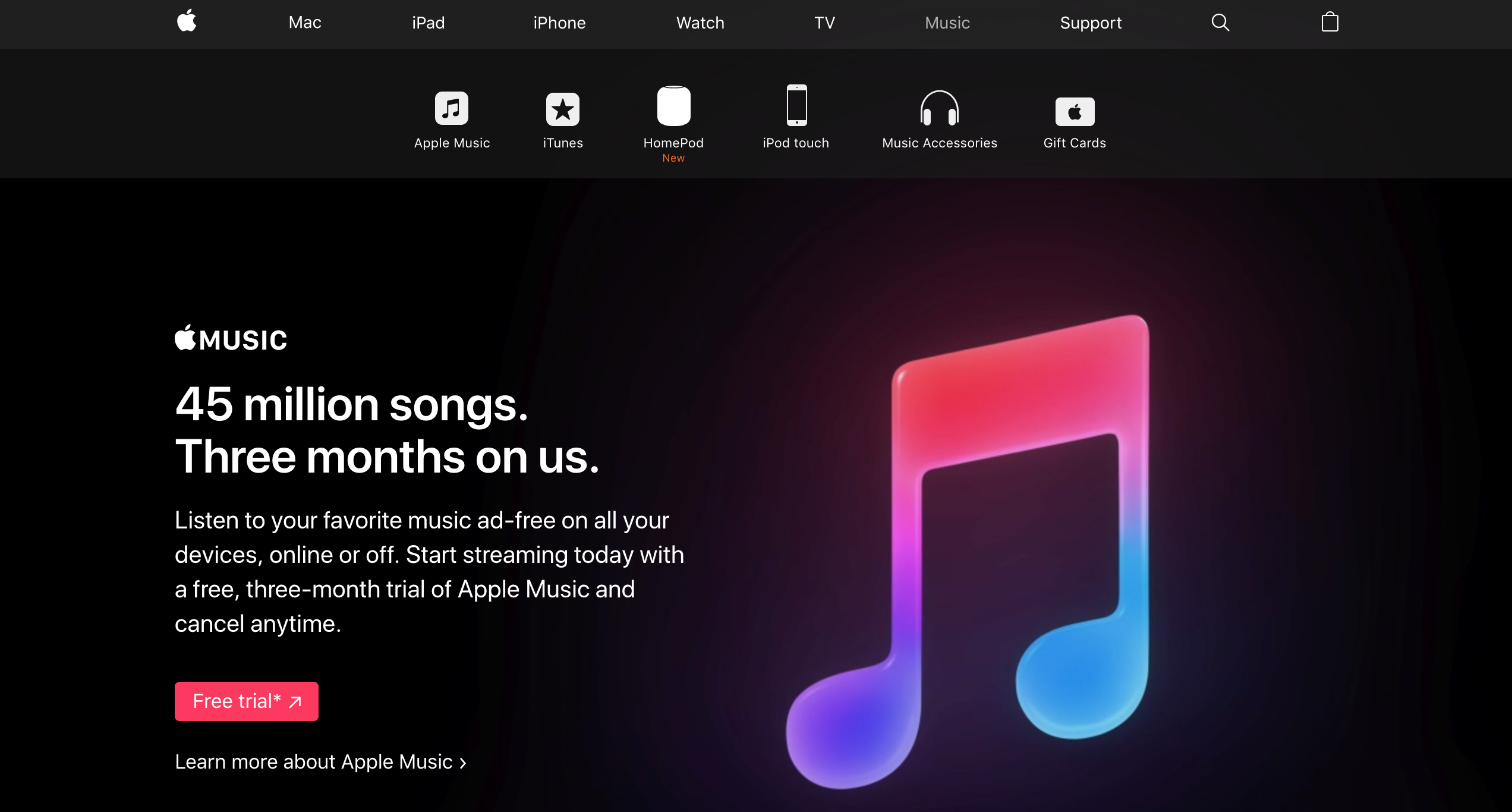 apple music saas marketing