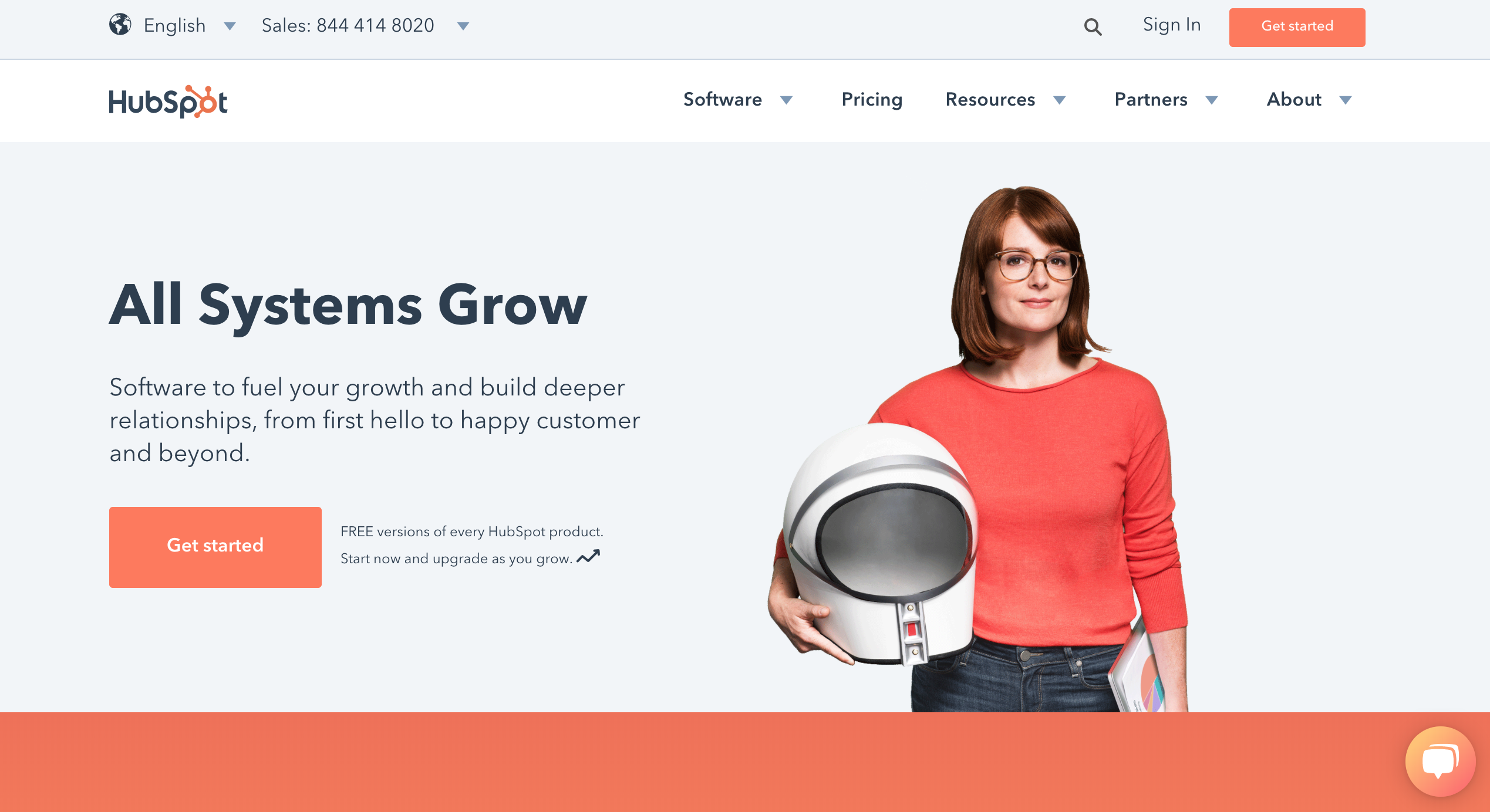hubspot marketing for saas