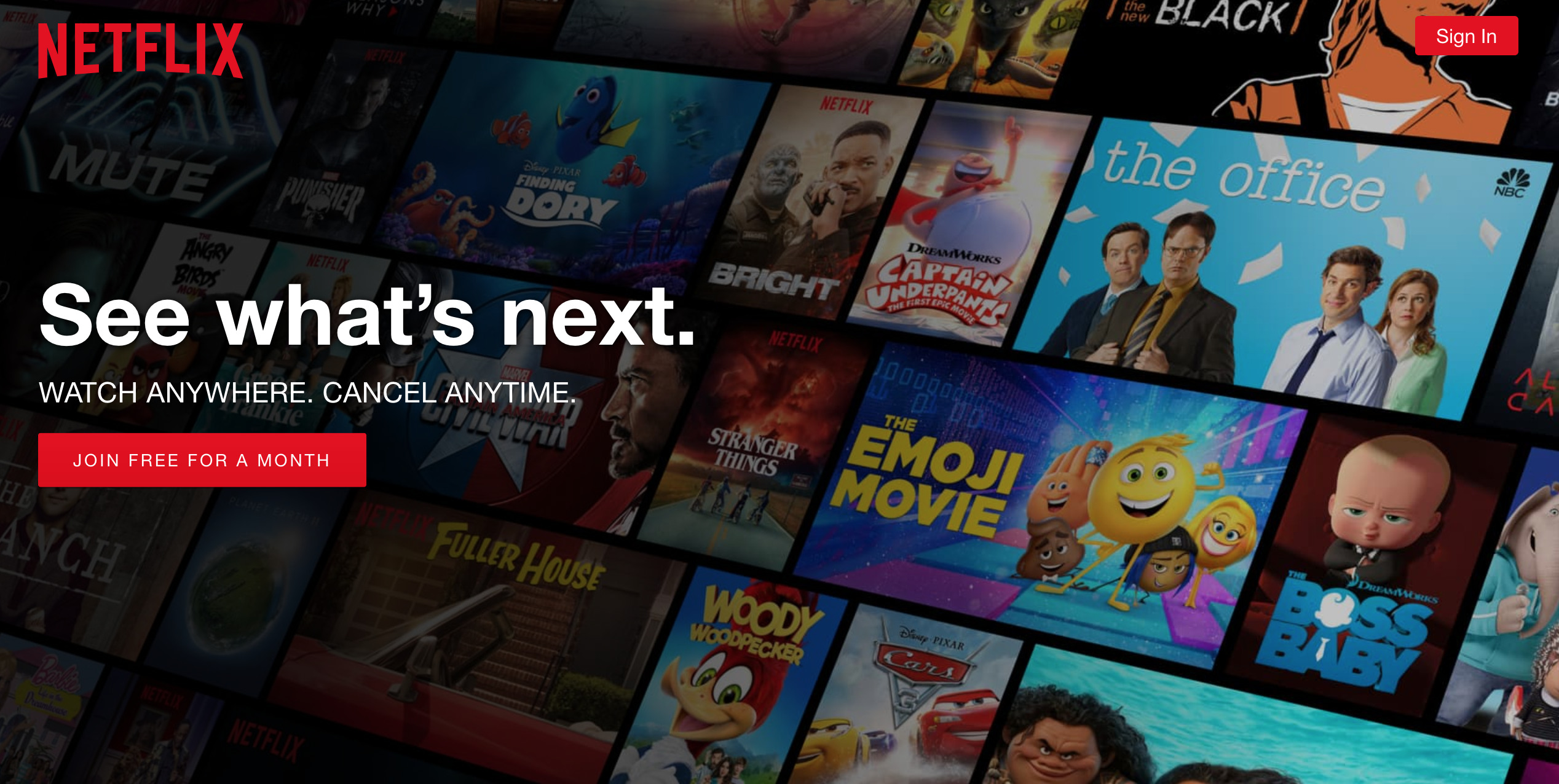netflix saas marketing