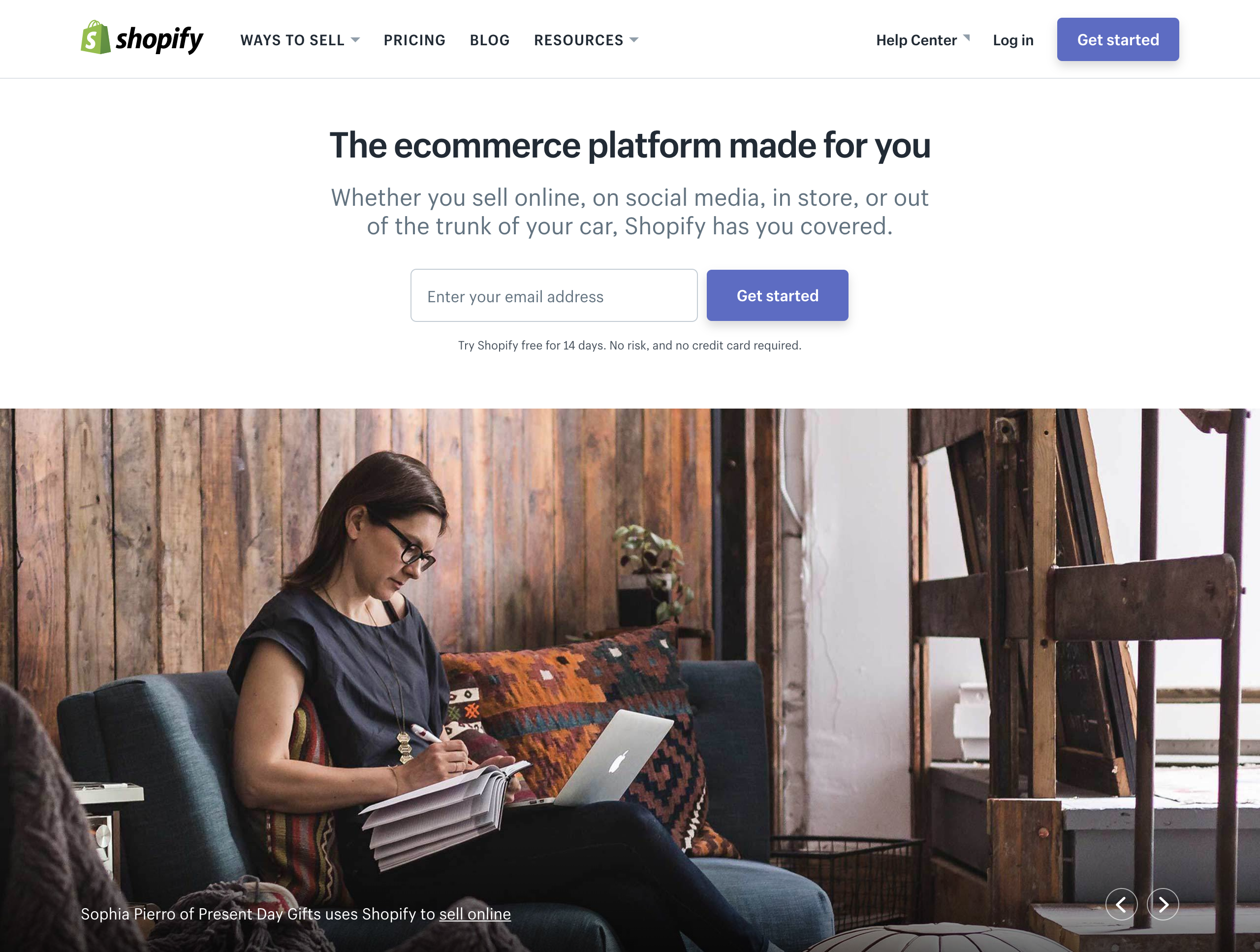 shopify ecommerce marketing