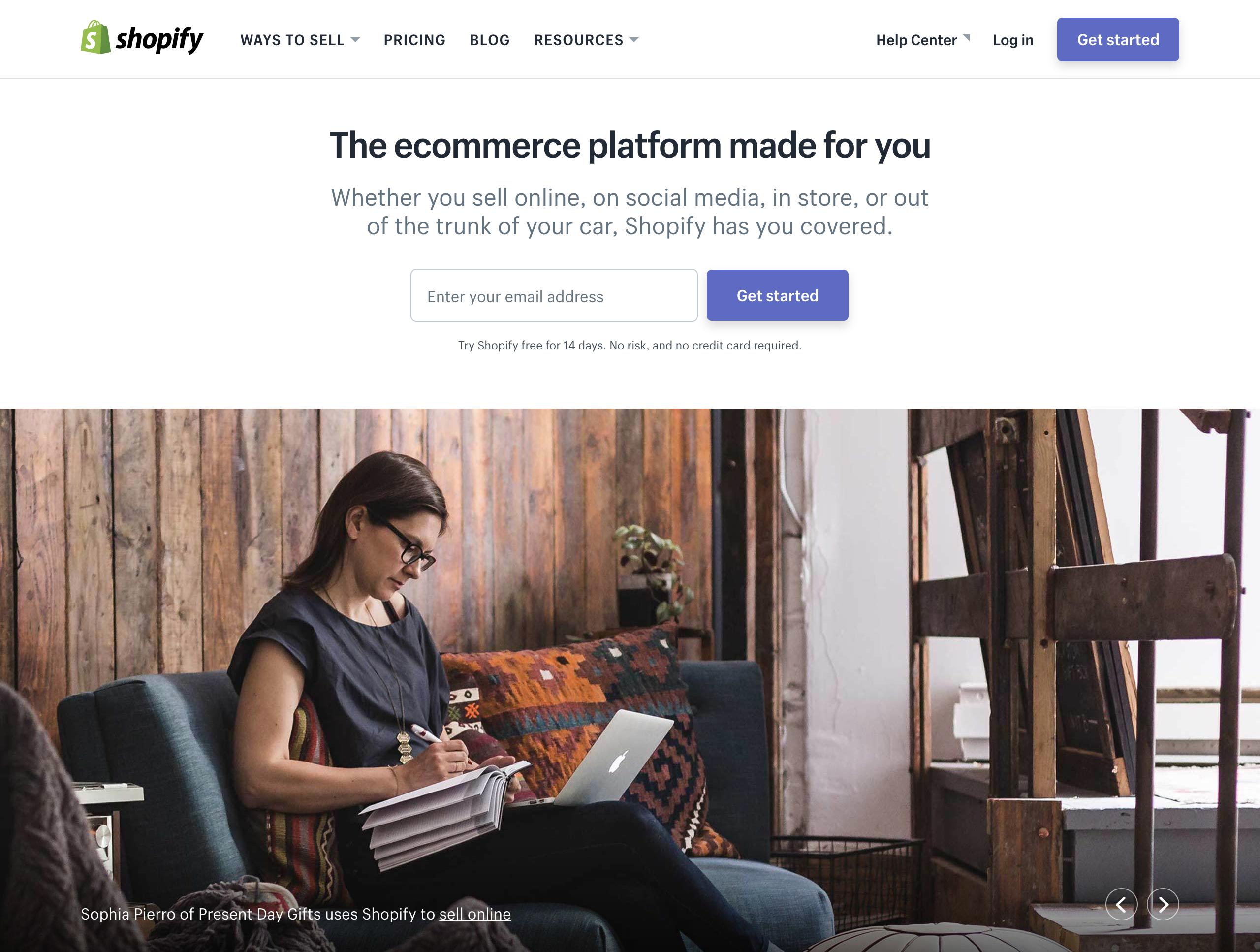 shopify ecommerce marketing