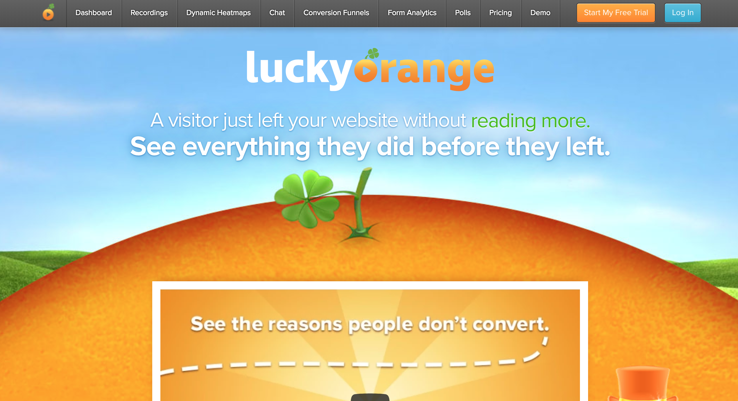 luckyorange saas automation tools
