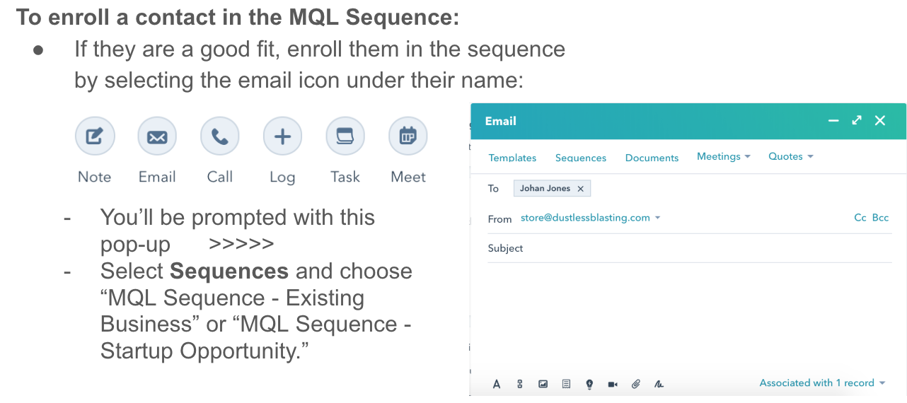 MQLsequence