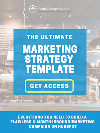 marketing strategy template for hubspot