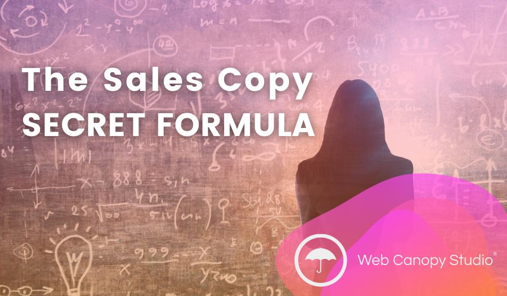 The Sales Copy Secret Formula