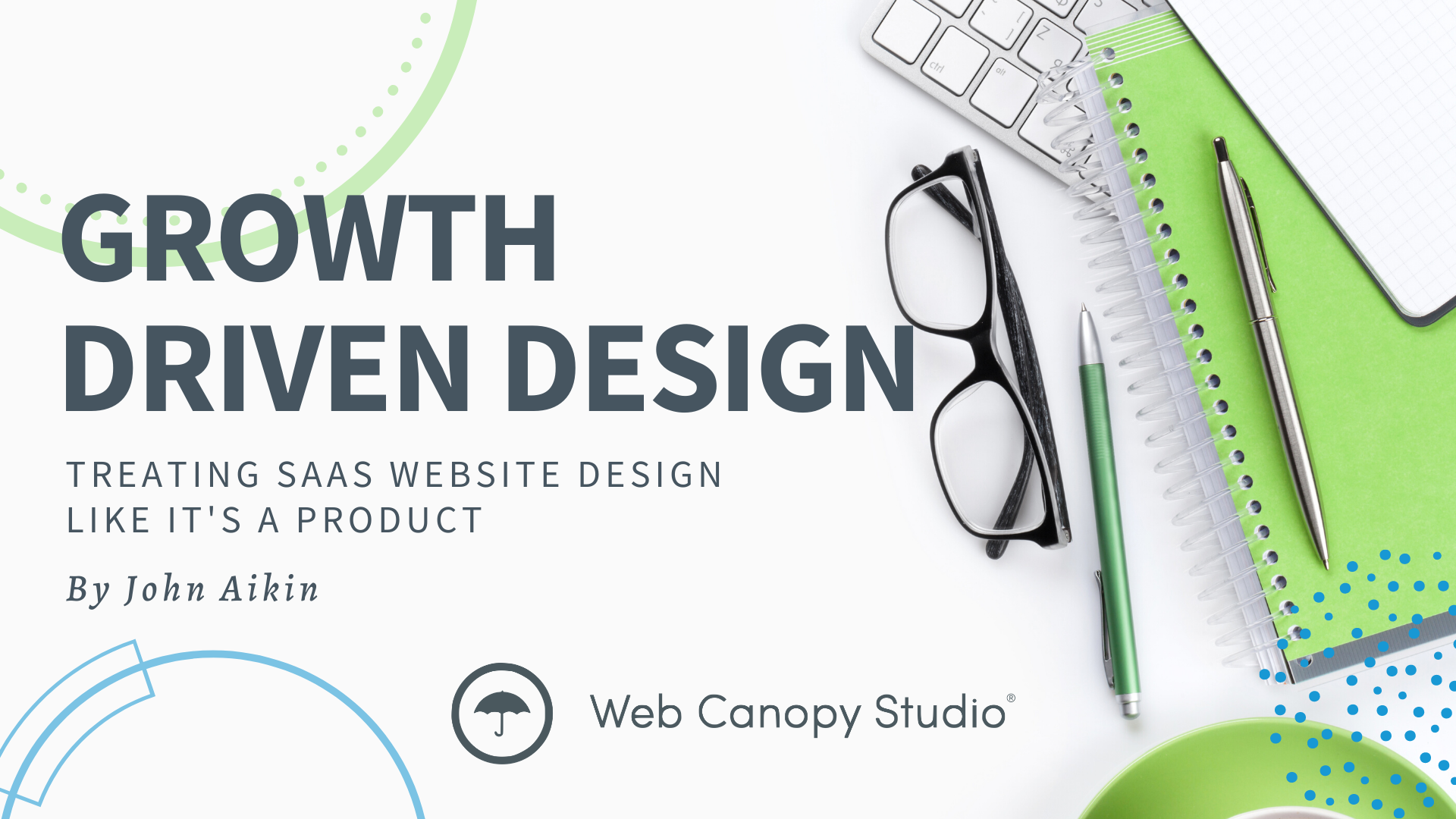 How do you increase the performance of your website? Growth driven design is an agile approach to development. Treating your SaaS website design like a product will increase your conversion rate