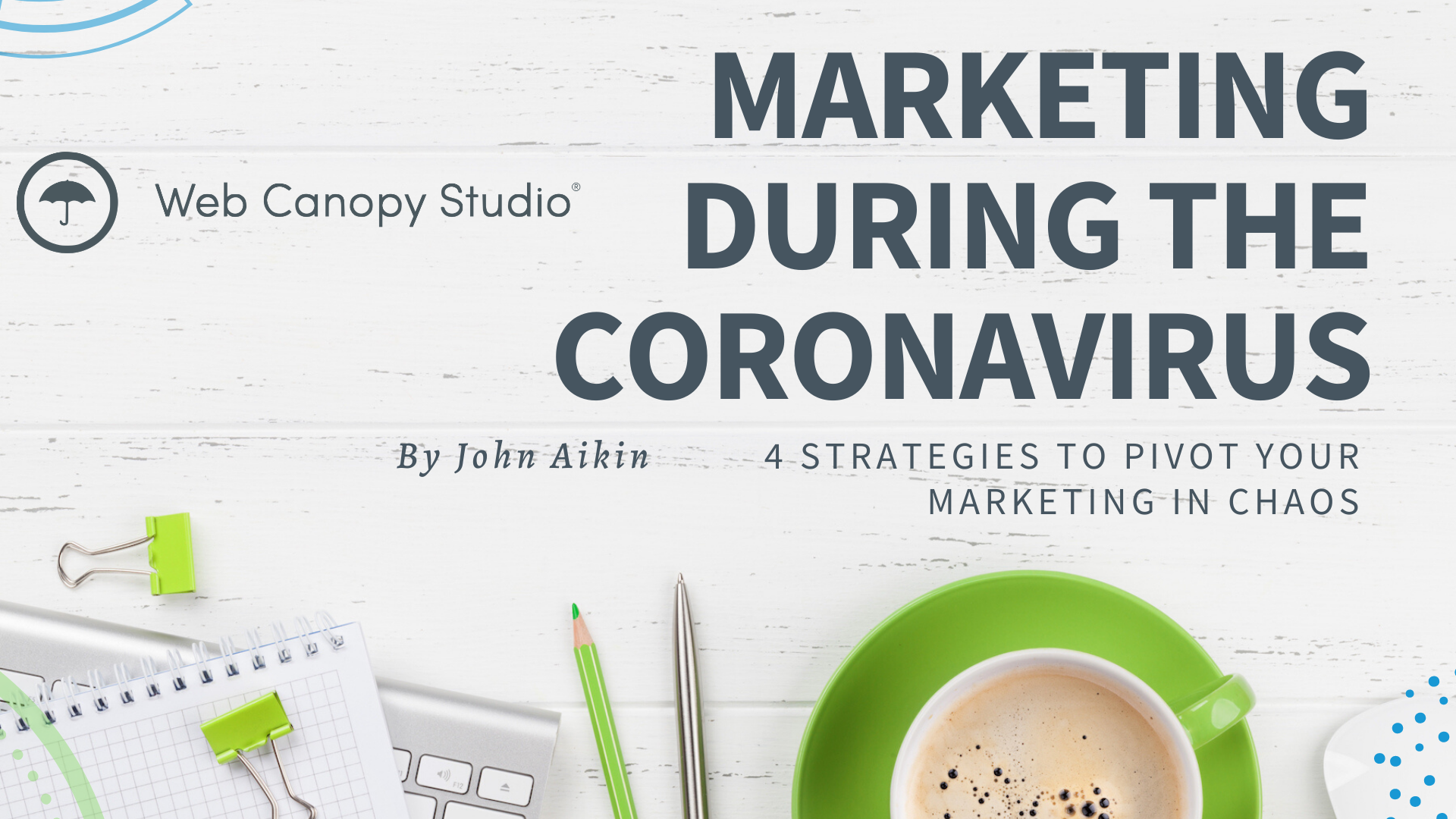 marketing during the corona virus